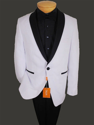 Image of Boy's Sportcoat 13828 White from Boys Sport Coat Tallia
