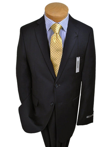 Image of DKNY 14187 Navy Boy's Suit - Tonal Stripe - 100% Tropical Worsted Wool from Boys Suit DKNY