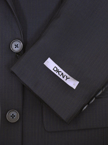 DKNY 14187 Navy Boy's Suit - Tonal Stripe - 100% Tropical Worsted Wool from Boys Suit DKNY