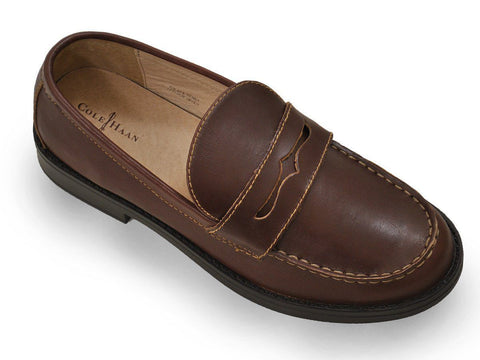 Boy's Shoe 14228 Brown Boys Shoes Cole Haan