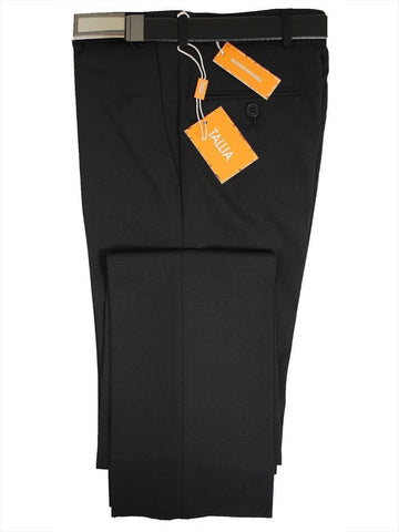 Tallia 14362 Black Skinny Fit Boy's Dress Pant - Textured Weave - 57% Polyester / 41% Wool / 2% Lycra Boys Dress Pant Tallia