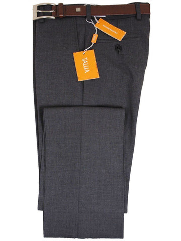 Tallia 14370 Grey Skinny Fit Boy's Dress Pant - Textured Weave - 57% Polyester / 41% Wool / 2% Lycra Boys Dress Pant Tallia