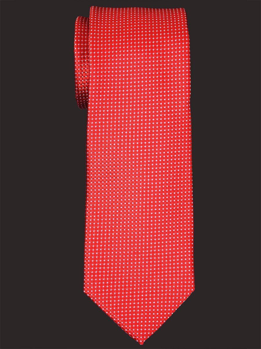 Heritage House 16017 100% Woven Silk Boy's Tie - Neat - Red Boys Tie Heritage House