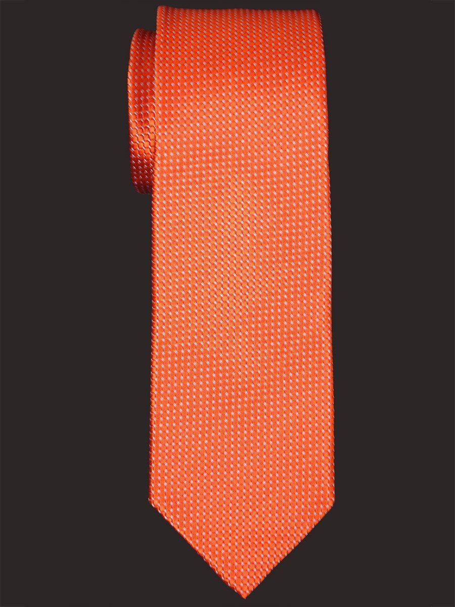 Heritage House 16020 100% Woven Silk Boy's Tie - Neat - Orange Boys Tie Heritage House
