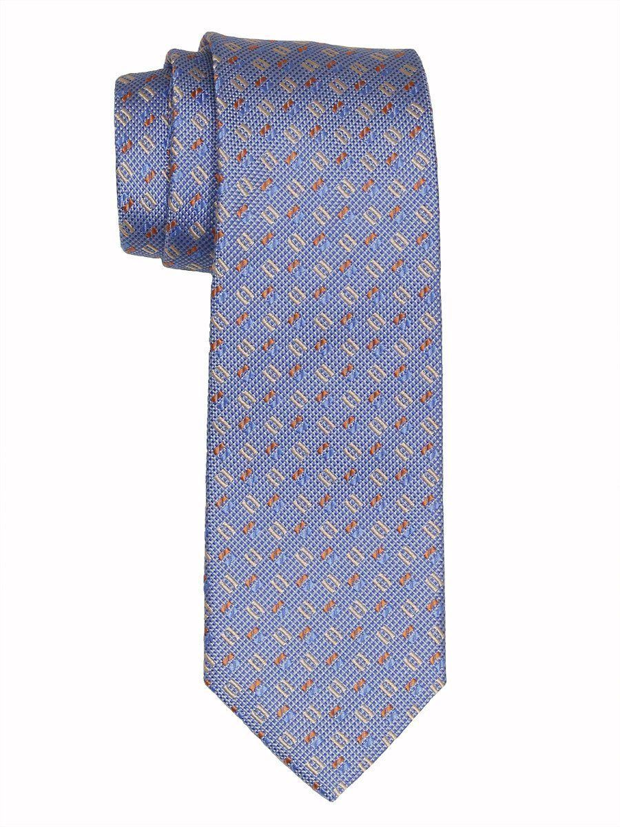 Boy's Tie 16452 Blue/Tan/Orange Boys Tie Heritage House