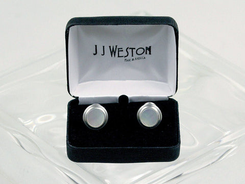 Boy's Cuff Links 16577 Silver Boys Cufflinks J.J. Weston