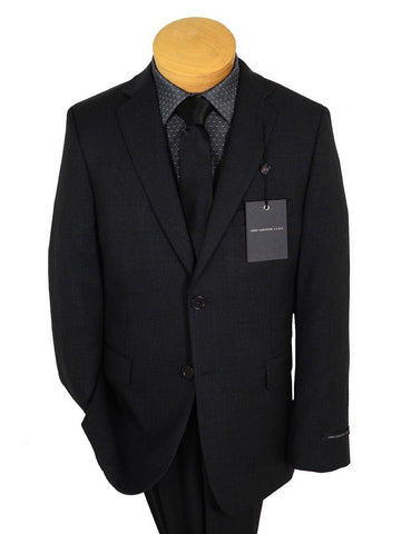 Image of John Varvatos 17247 Charcoal Boy's Suit - Tonal Stripe - 100% Tropical Worsted Wool - Lined Boys Suit John Varvatos