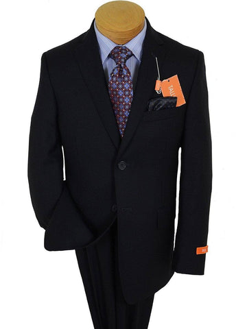 Image of Tallia 17357 Navy Boy's Suit - Solid Gabardine - 100% Wool from Boys Suit Tallia