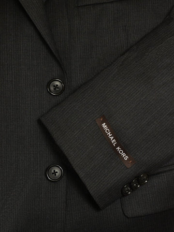 Image of Michael Kors 17394 Charcoal Boy's Suit - Tonal Stripe - 100% Tropical Worsted Wool - Lined from Boys Suit Michael Kors