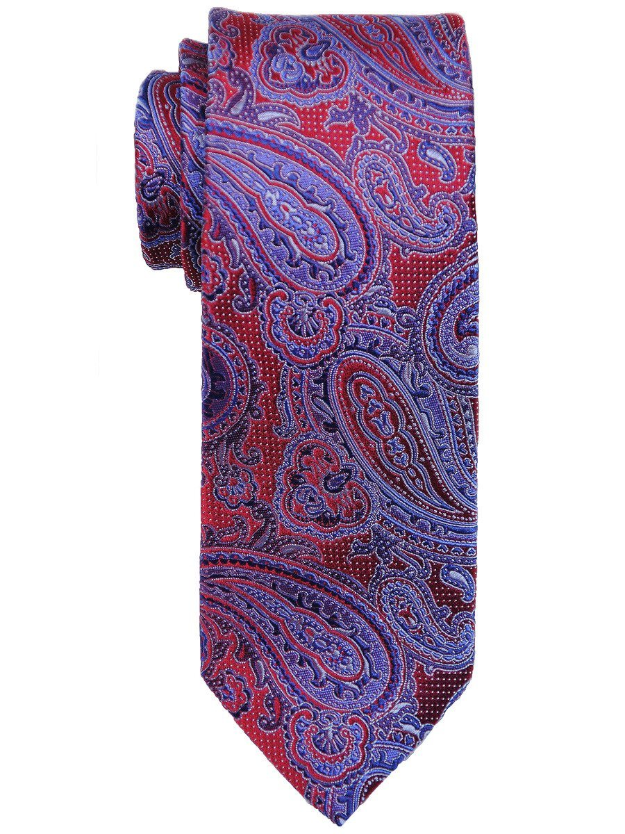 Boy's Tie 17483 Red/Blue Boys Tie Heritage House