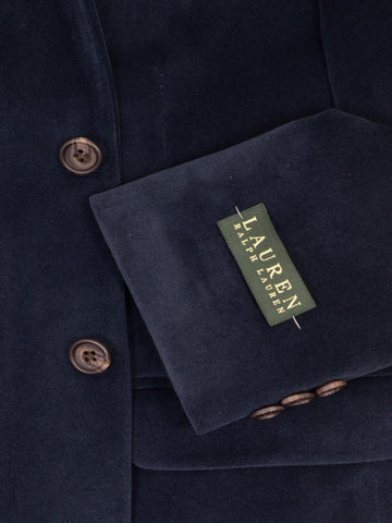 Image of Lauren Ralph Lauren 17892 Navy Boy's Sport Coat/ Jacket - Velvet - 100% Polyester Boys Sport Coat Lauren
