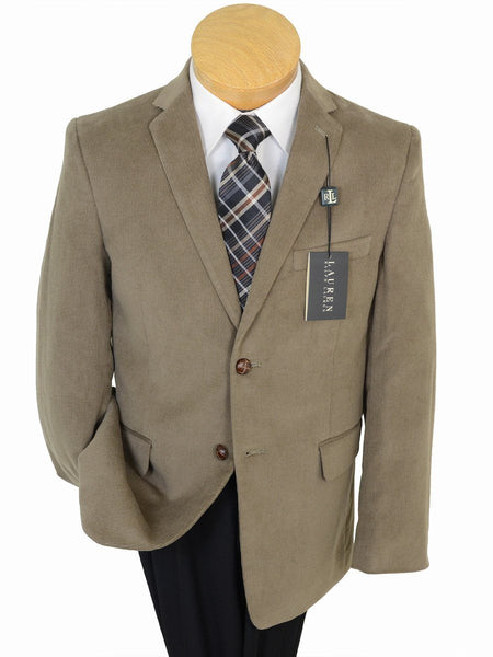 Lauren by Ralph Lauren 17899 Tan  Boy's Sport Coat/ Jacket - Corduroy - 100% Cotton