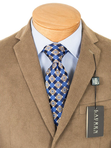 Image of Lauren Ralph Lauren 22832 100% Cotton Boy's Sport Coat - Corduroy - Tan Boys Sport Coat Lauren