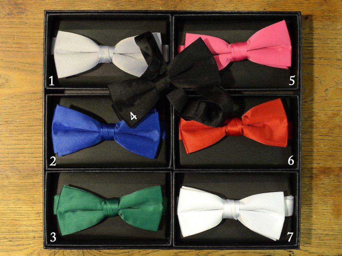 Boy's Bow Tie 17915 Solids