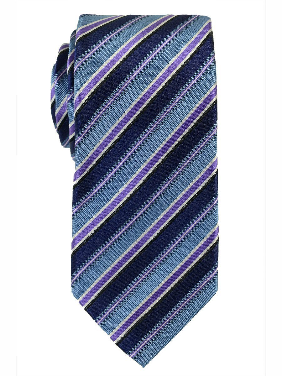 Boy's Tie 18157 Navy/Blue/Purple Boys Tie Heritage House