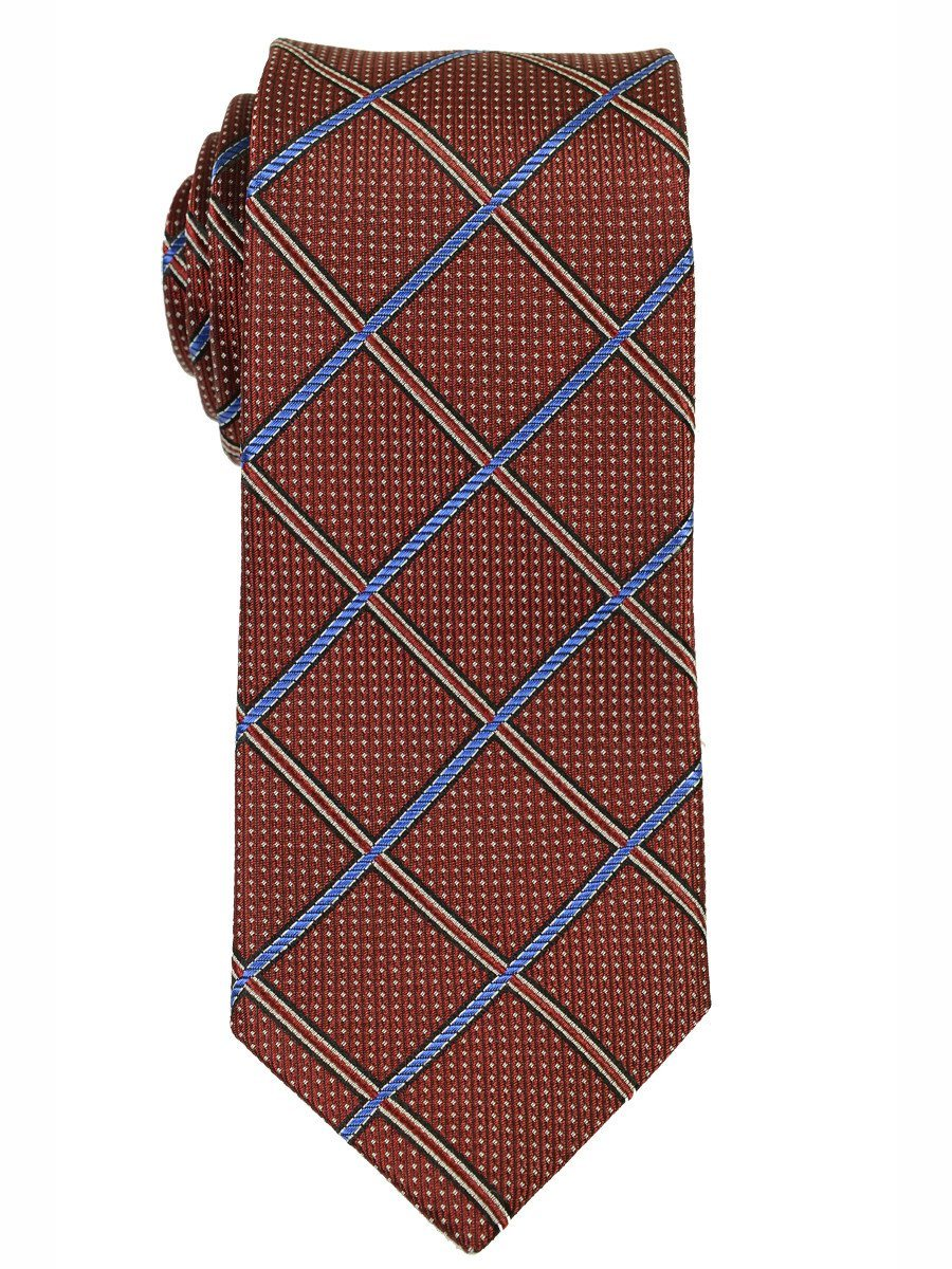 Boy's Tie 18185 Red/Blue Boys Tie Heritage House