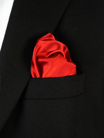 Boy's Pocket Square 18611 Red Tonal Boys Pocket Square Heritage House