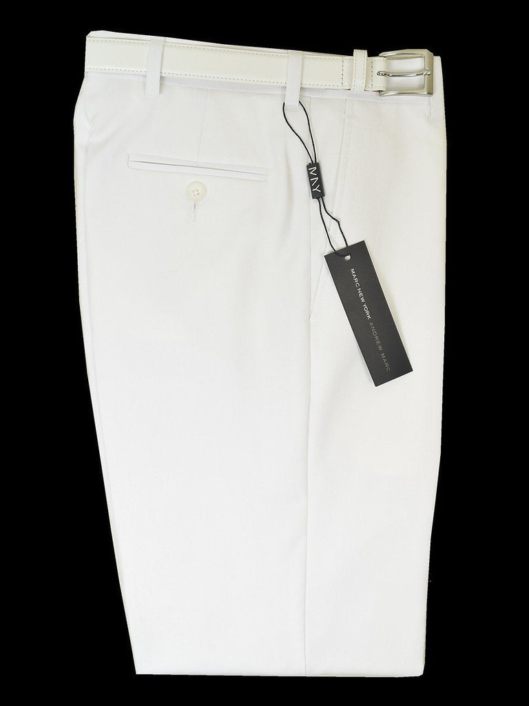 0f97aa87ccb4 Andrew Marc 18743P Boys Suit Separate Pant- White Boys Suit Separate Pant Andrew  Marc