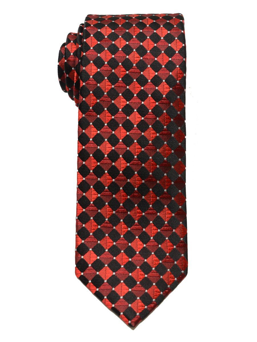 Boy's Tie 18855 Black/Red Boys Tie Heritage House