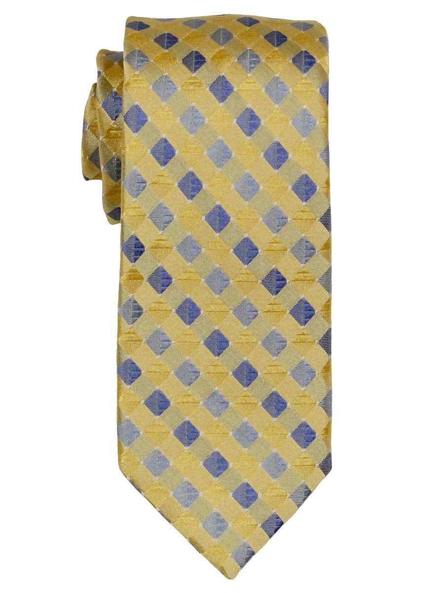 Boy's Tie 18863 Yellow Blue Boys Tie Heritage House