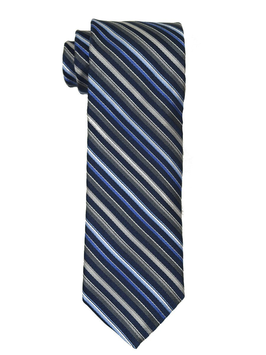 Boy's Suit 18879 Navy/Grey/Blue Boys Tie Heritage House