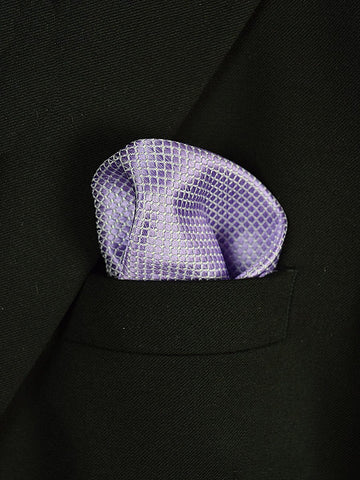 Boy's Pocket Square 18944 Lilac Neat Boys Pocket Square Heritage House