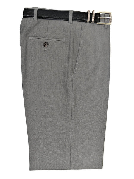 Lauren Ralph Lauren 19167P 65% Polyester/ 35% Rayon Boy's Suit Separate Pant - Weave - Light Grey, Plain Front