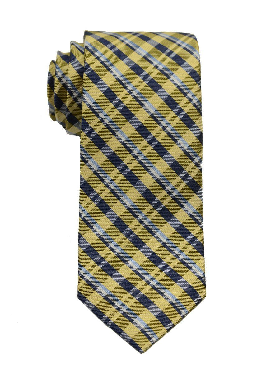 Boy's Tie 19754 Yellow/Navy Boys Tie Heritage House