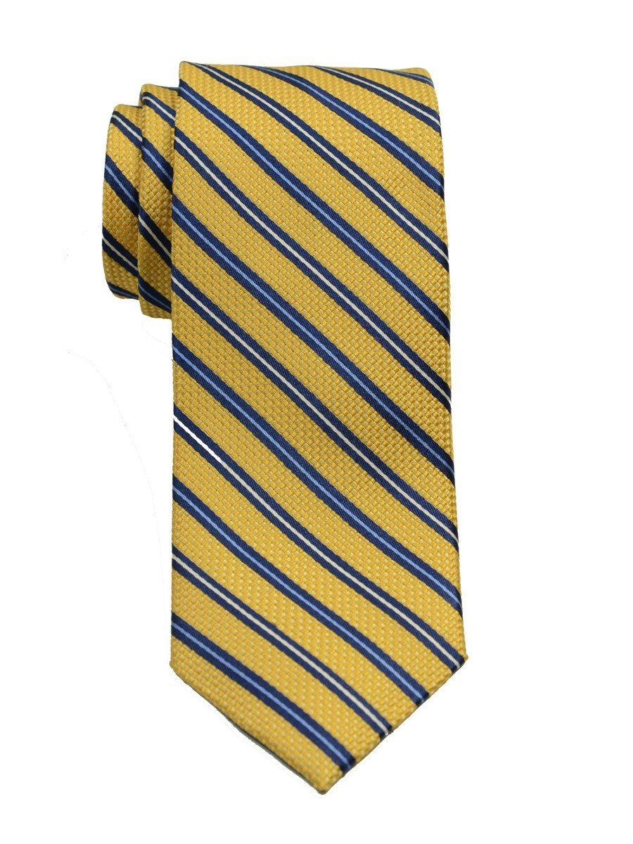 Boy's Tie 19766 Yellow/Blue Boys Tie Heritage House
