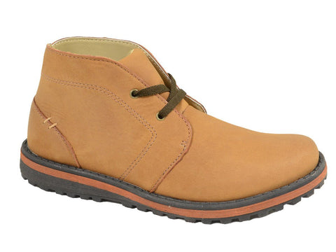 Boy's Shoe 20022 Saddle Tan Boot Boys Shoes Umi