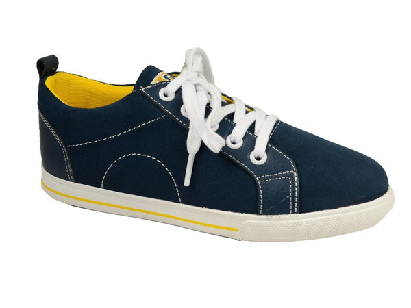 Florsheim 20181 Leather Boy's Shoe - Athletic - Navy