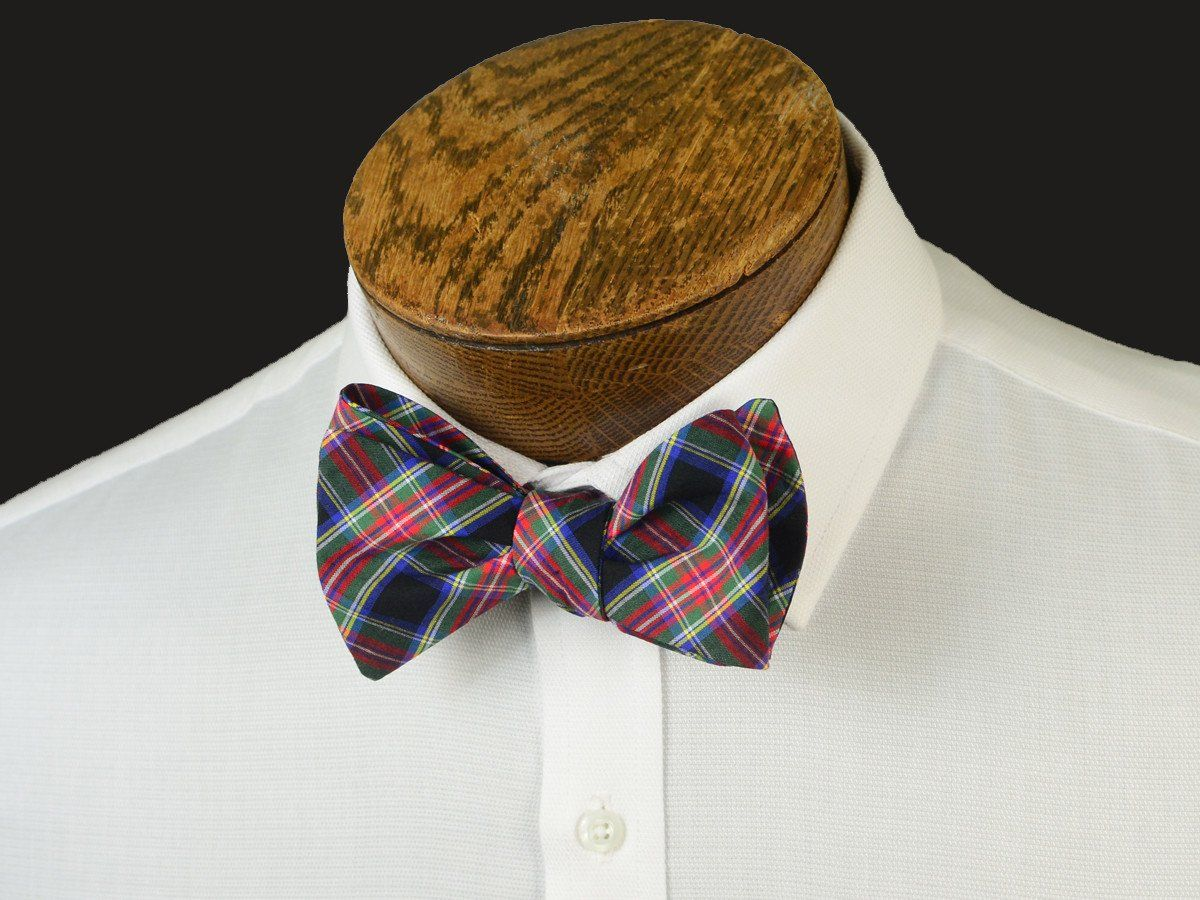 Boy's Bow Tie 20899 Black/Red Plaid