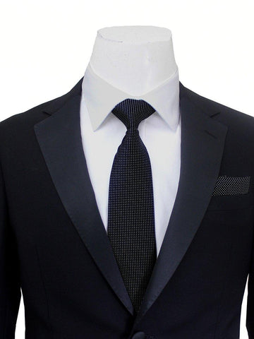 Image of Trend by Maxman 20969 100% Wool Young Men's Tuxedo - Slim Fit - Solid - Black Young Mens Tuxedo Maxman