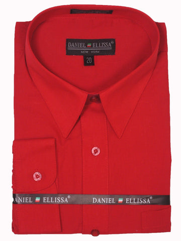 Boy's Dress Shirt 2112 Red Boys Dress Shirt Daniel Ellissa
