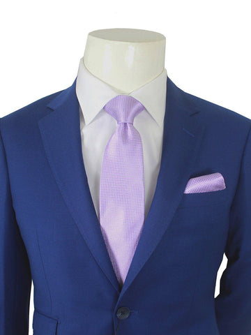 Trend by Maxman 21183 French Blue Skinny Fit Young Man's Suit Separate Jacket - Solid Gabardine - 100% Tropical Worsted Super 140 Wool - Lined
