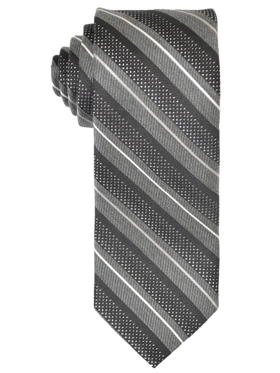 Boy's Tie 21239 Black/Charcoal