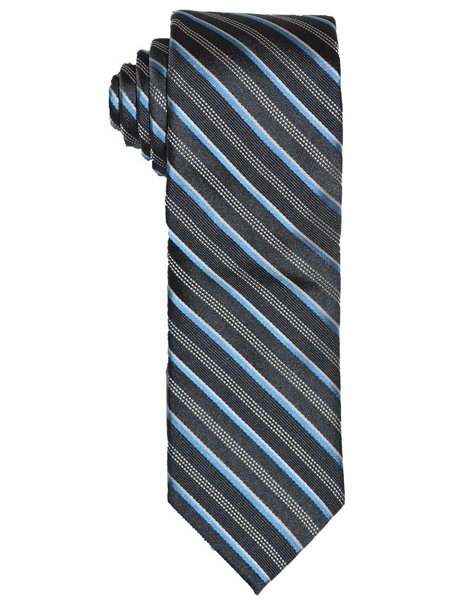 Boy's Tie 21247 Grey/Blue Boys Tie Heritage House