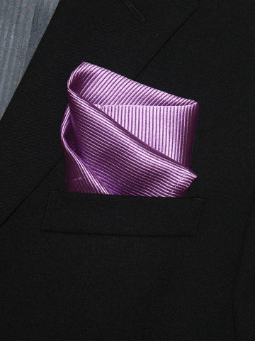 Boy's Pocket Square 21328 Purple Tonal Boys Pocket Square Heritage House