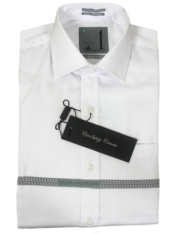 Alviso 21435 Boys Dress Shirt - Solid- White Boys Dress Shirt Alviso 4 REG White REGULAR