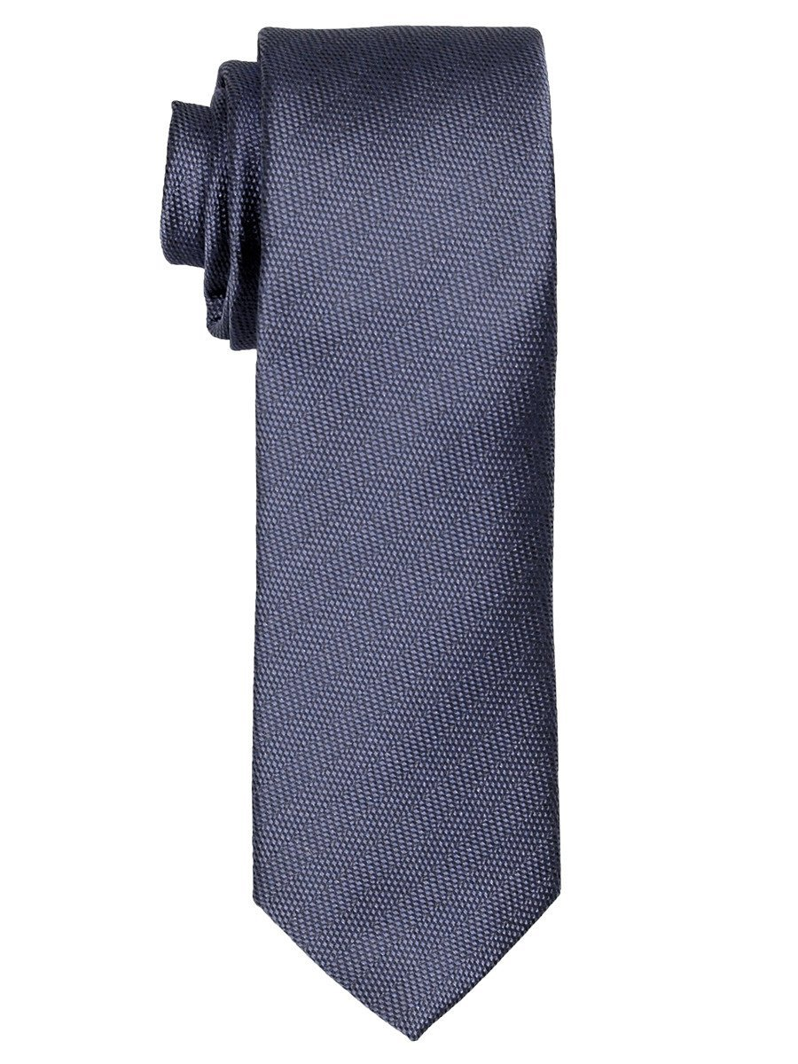 Heritage House 21469 100% Woven Silk Boy's Tie - Tonal Solid - Medium Blue Boys Tie Heritage House