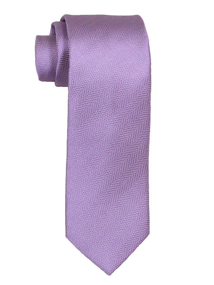 Heritage House 21483 100% Woven Silk Boy's Tie - Tonal Solid - Lilac Boys Tie Heritage House
