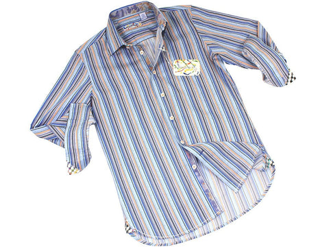 Boy's Sport Shirt 21499 Multi Boys Sport Shirt Brandolini
