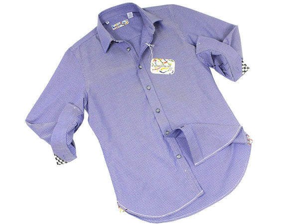Boy's Sport Shirt 21504 Blue