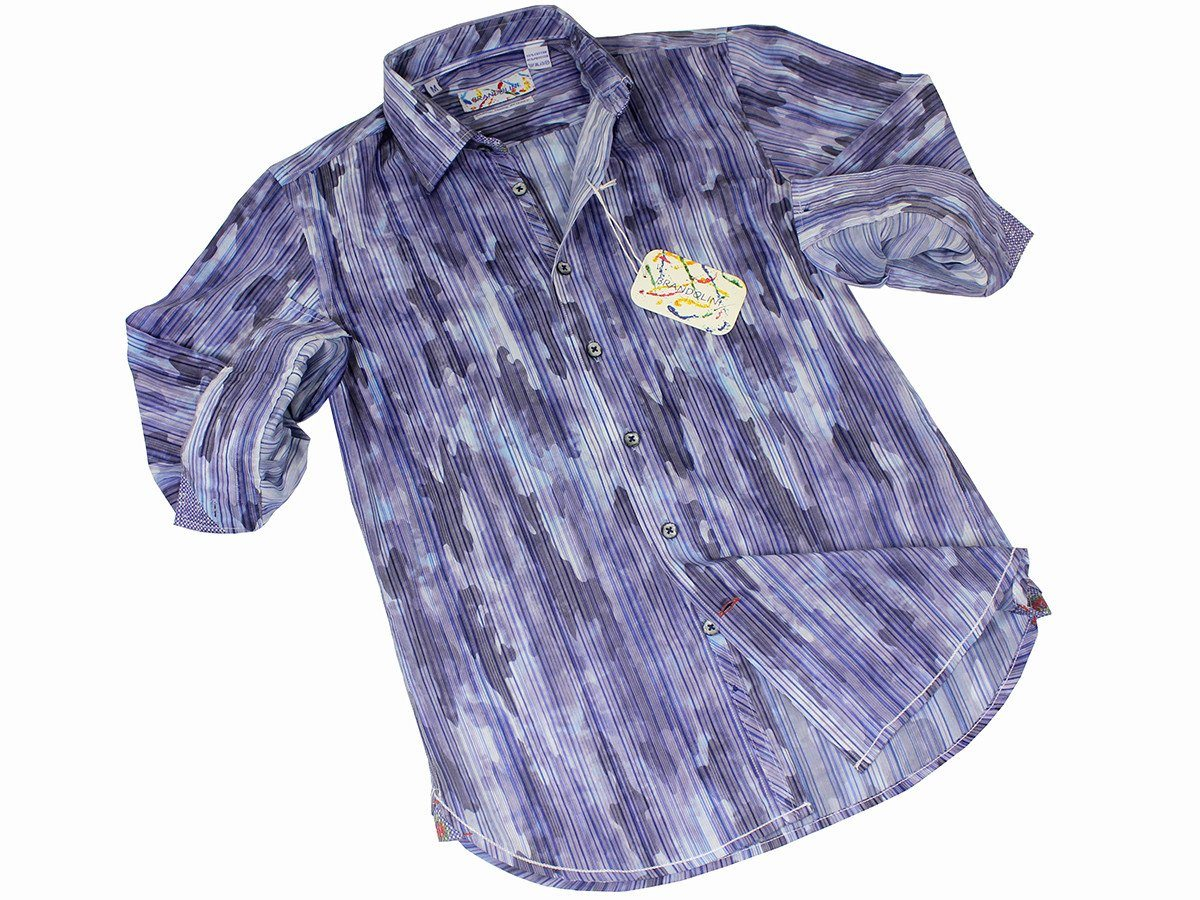 Boy's Sport Shirt 21508 Blue