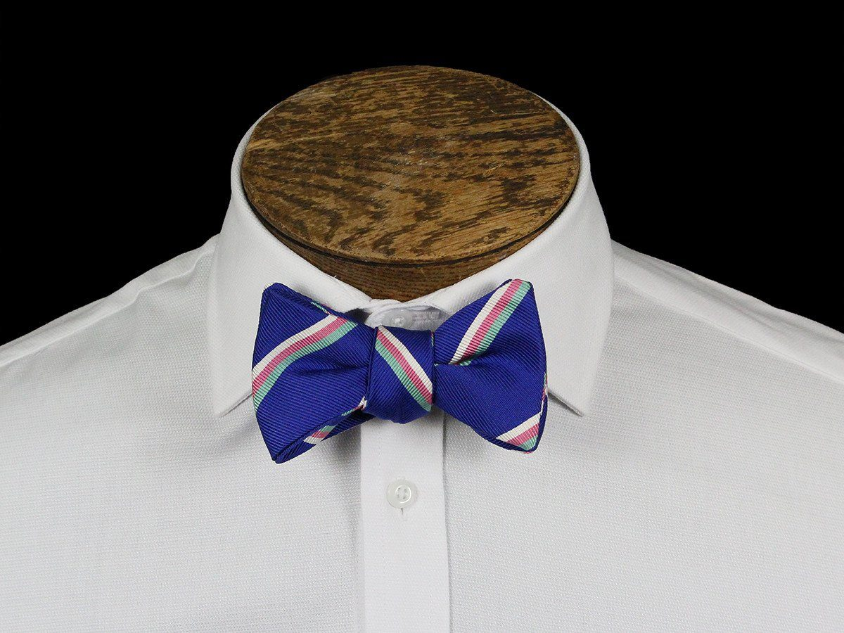 Boy's Bow Tie 21665 Blue Stripe