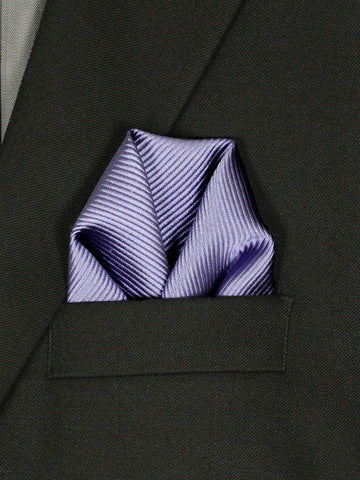 Boy's Pocket Square 21707 Purple Boys Pocket Square Heritage House