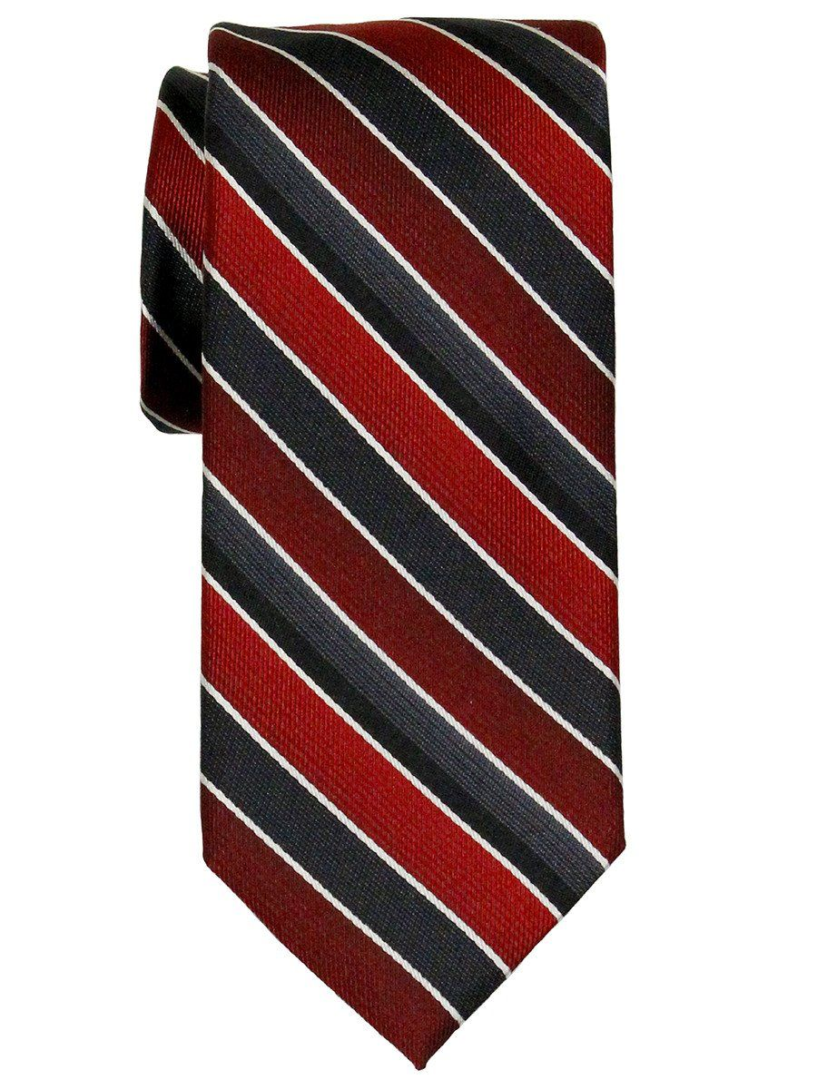Boy's Tie 21793 Red/Black Boys Tie Heritage House