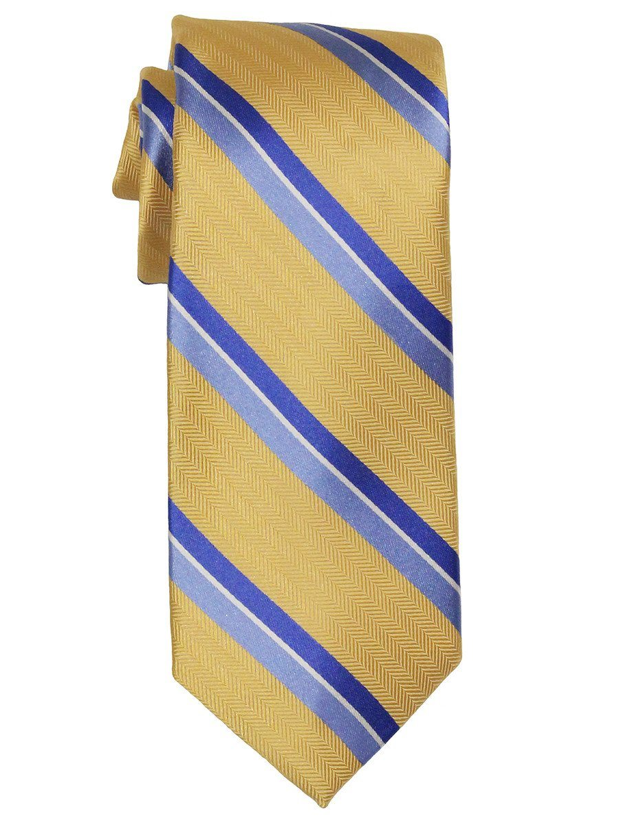 Boy's Tie 21805 Yellow/Blue Boys Tie Heritage House