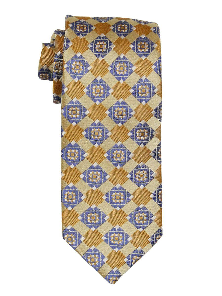 Boy's Tie 21841 Yellow/Blue Boys Tie Heritage House