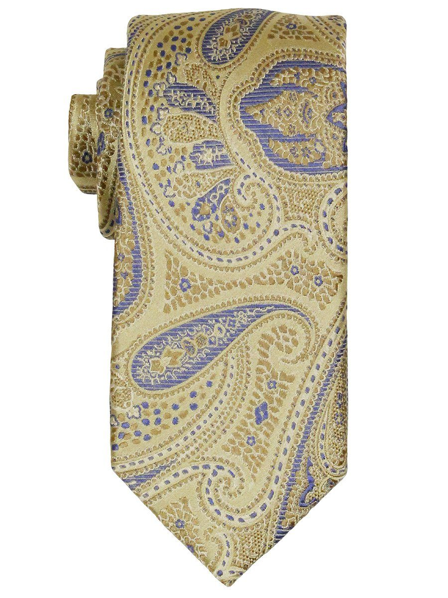 Boy's Tie 21867 Yellow/Blue Boys Tie Heritage House